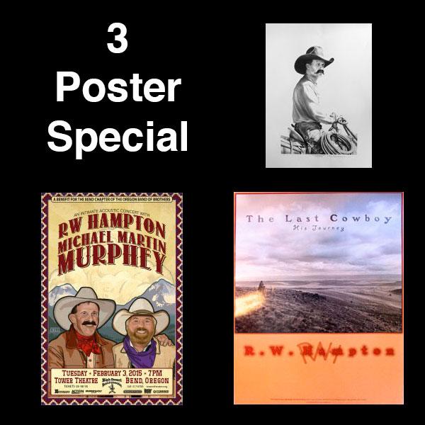 R.W. Hampton - 3 Poster Special