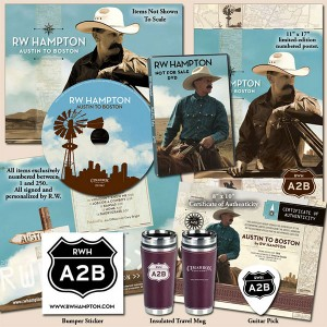 R.W. Hampton - Austin To Boston Limited Edition Package