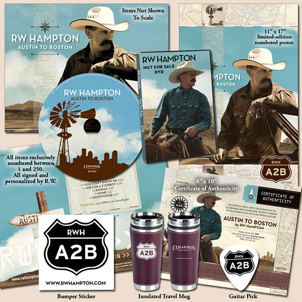 R.W. Hampton - Austin To Boston Limited Edition Package
