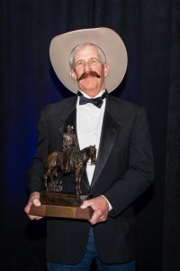 RW shows off the Chester A Reynolds Award